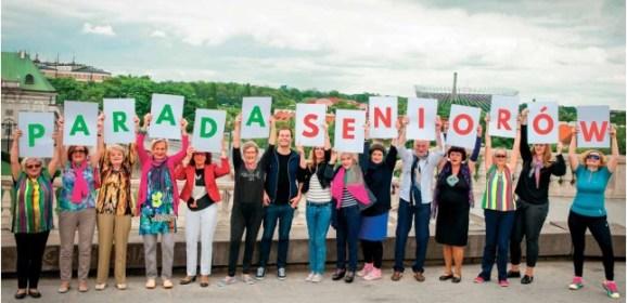 """Zapraszamy wyszkowian na Ogólnopolską Paradę Seniorów """"Dojrzali Wspaniali"""""""