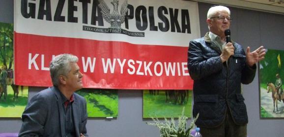 Spotkanie z Krzysztofem Wyszkowskim – legendą Solidarności i wieloletnim działaczem opozycji w czasach PRL-u