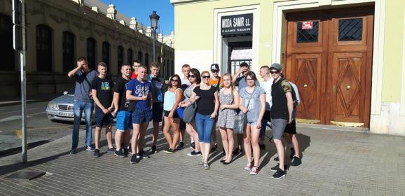 Hiszpania – kolejne staże zawodowe baczyńszczaków
