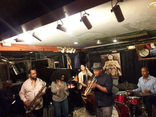 Brandon Sanders Group at Small's