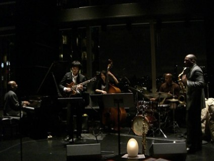 With Anthony Wosey Quintet at Dizzy's Club, New York