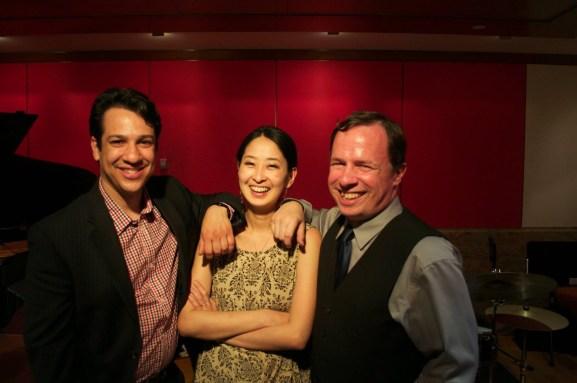 With The OKB Trio (Oscar Perez, Brian Woodruff)