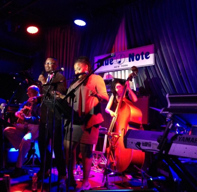 R'kardo st.Von at Blue Note, New York