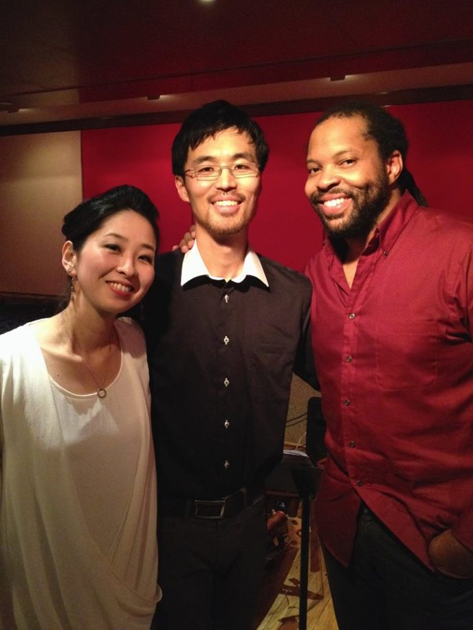 With Daisuke Abe Trio at the Kitano New York
