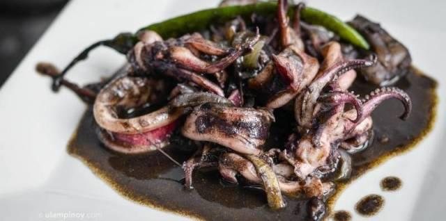 Adobong Pusit Recipe