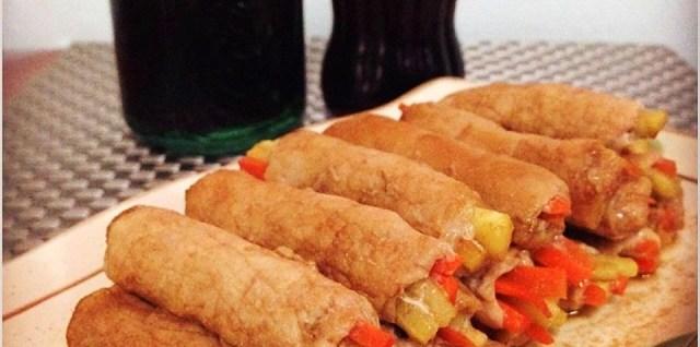 Cola Hoisin Pork Roll