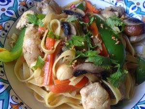 Oriental Chicken Noodles