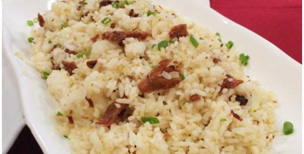 Dried Pusit Fried Rice Recipe