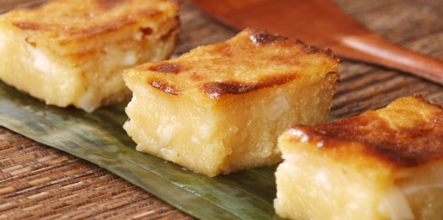 Easy Cassava Cake Recipe