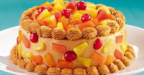 Yema Frosted Cake