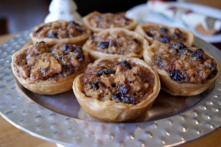 Cranberry Toffee Tarts