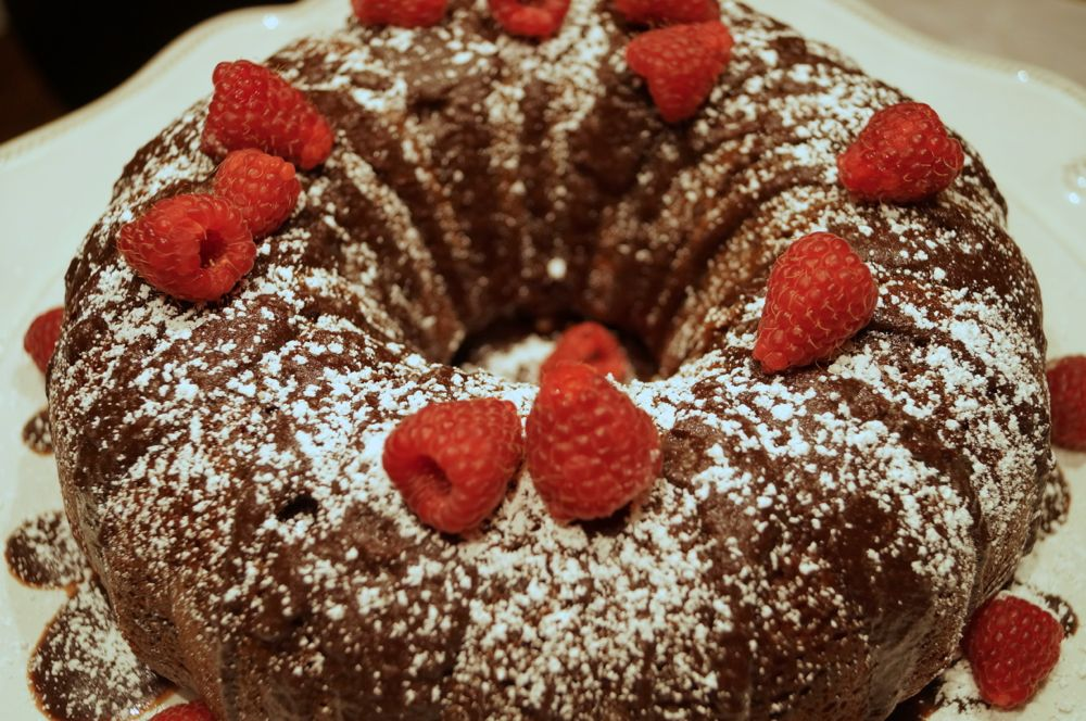 Triple Chocolate Cake-4
