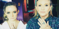 carrie fisher and billie lourd