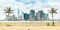Governors Island Beach New York