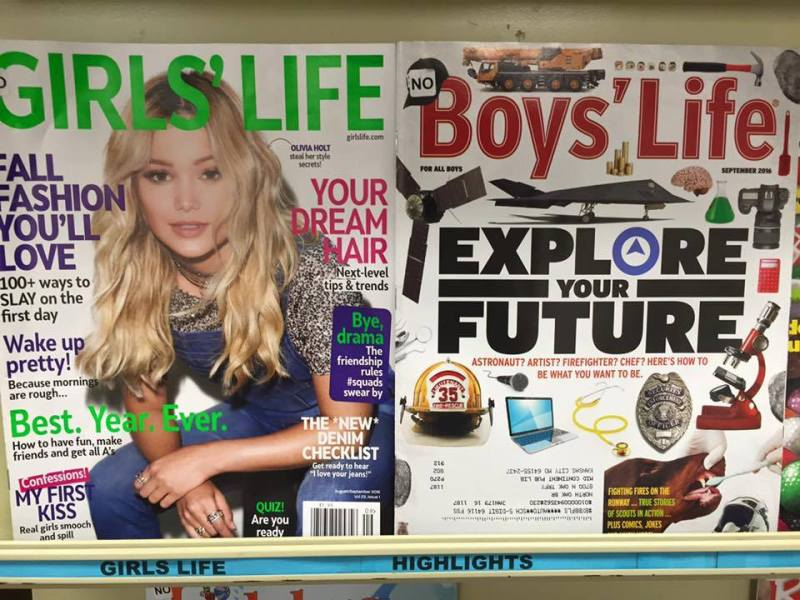 girl's life boy's life magazine