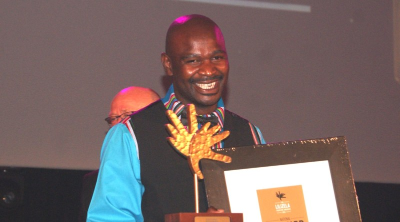 Head Guide at Marakele National Park wins the National Lilizela Award