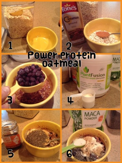 Clean Eating Power Protein Oatmeal Recipe
