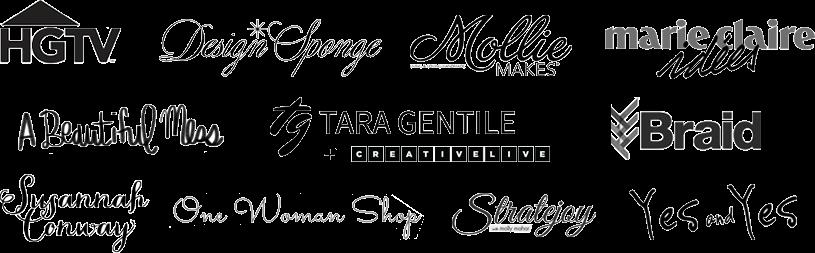 kyla roma press logos