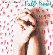 How my business let my husband quit his job to work with me full time