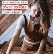 Want to sell more without feeling weird about it? You've got to stop focusing on inspring people, and share how you can help them solve their problems. (Even with your etsy shop or as a photographer!)