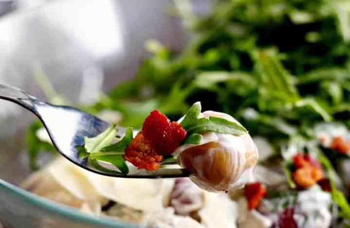 Bacon, Parmesan & Arugula Potato Salad