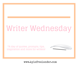 Writer Wednesday(2)