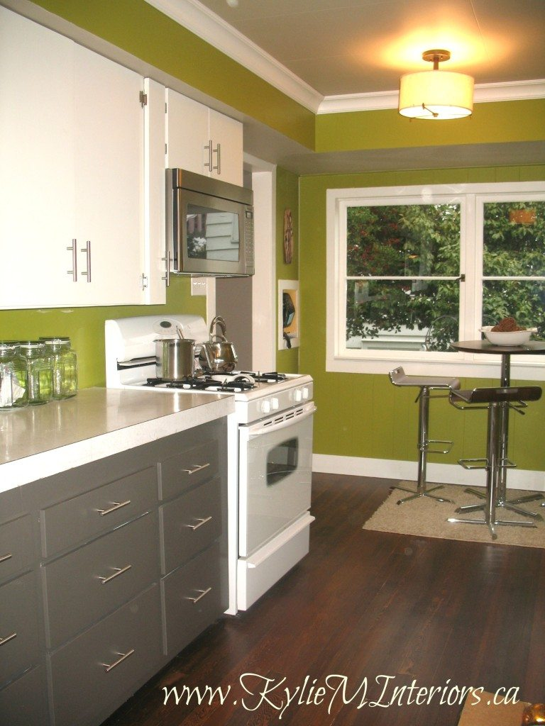 Kitchens With White Cabinets And Green Walls 28+ [ painted 1950 s kitchen cabinets amherst gray cloud white