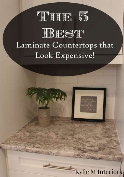 And while there are a few big names in the laminate countertop World ...