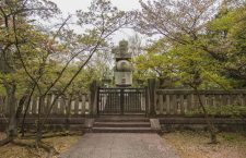 Mausoleum of Toyotomi Hideyoshi (豊臣 秀吉), the powerful warlord who unified Japan in Kyoto.