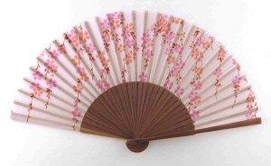 Japanese_Silk_Hand_Fan_Cherry_Blossoms