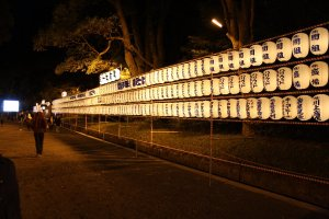 Lanterns_at_Meiji_Jingu_at_Midnight_on_New_Year_Day
