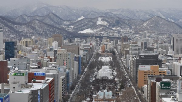 Odori_Park_from_Sapporo_TV_Tower_Observation_Deck