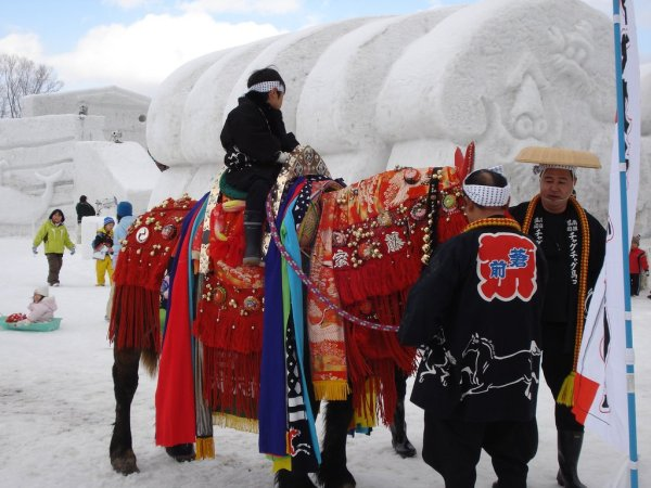 horseback_ride_at_the_iwate_snow_festival