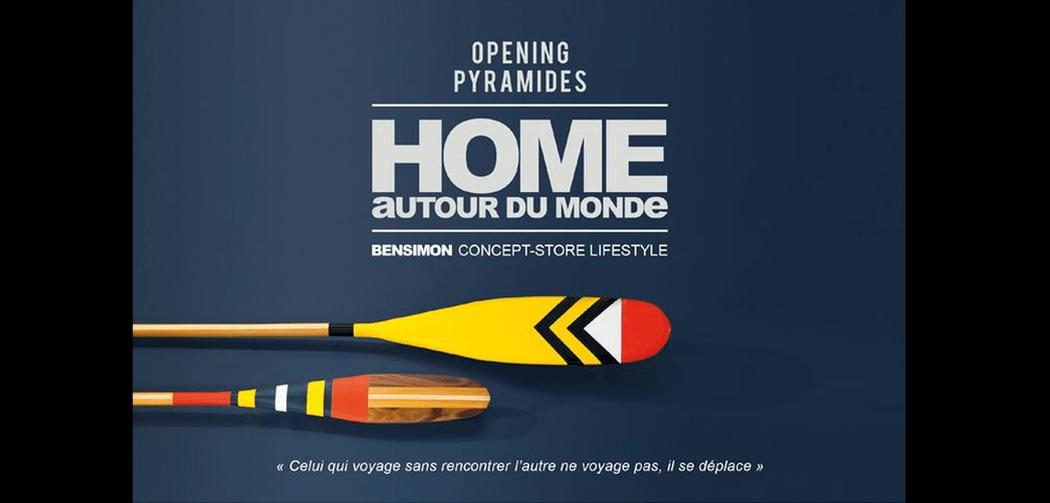 Home autour du monde ouvre rue des pyramides - Home autour du monde ...