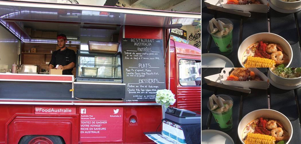 Food Truck Gateau Bio