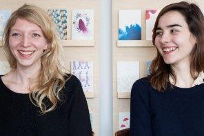 Mélissa et Julie, créatrices de jolie papeterie