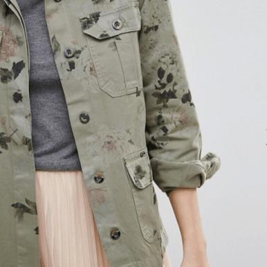 veste-army-imprime-floral