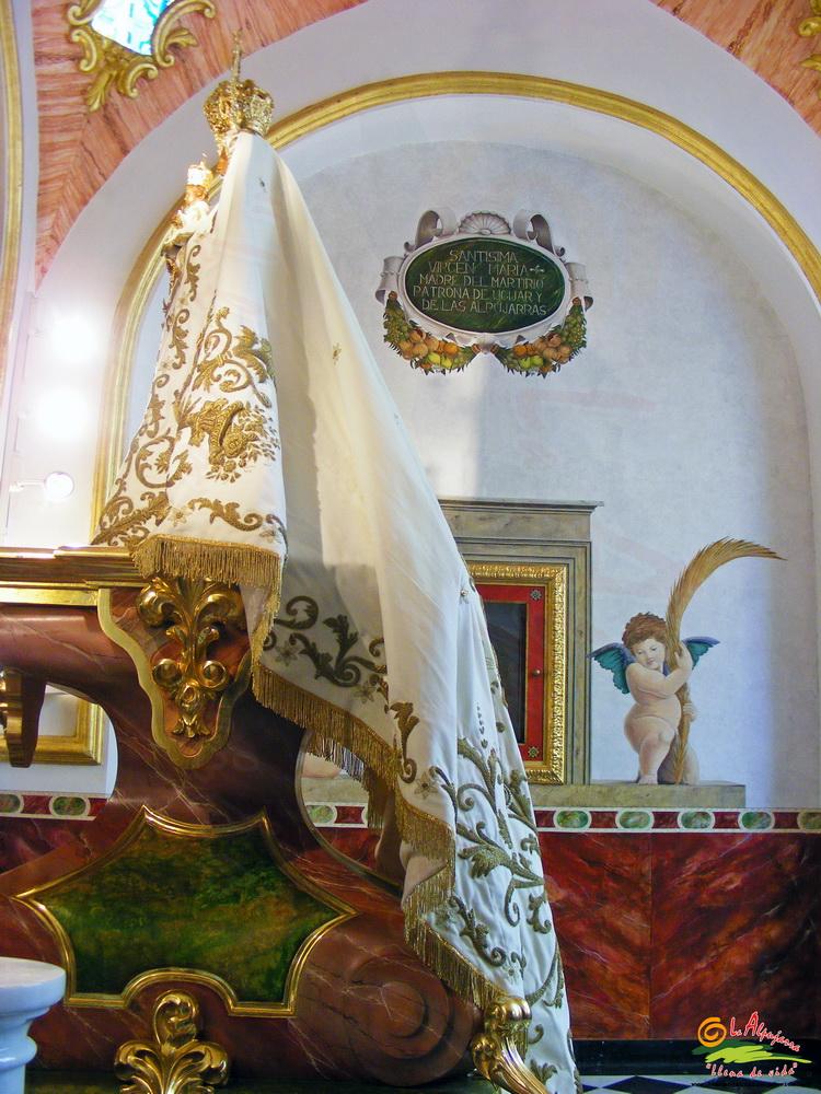 Santísima Virgen del Martirio Coronada Patrona de Ugíjar y de La Alpujarra