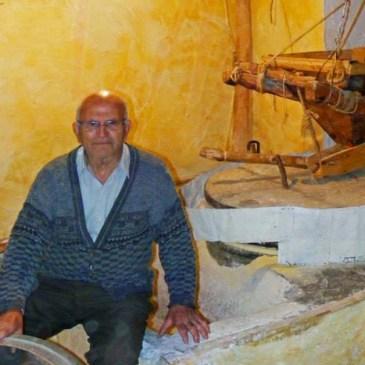 Domingo el último molinero de La Alpujarra
