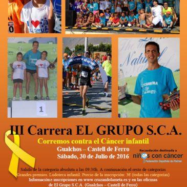 Gualchos – III CARRERA EL GRUPO S.C.A. – Contra el cáncer infantil