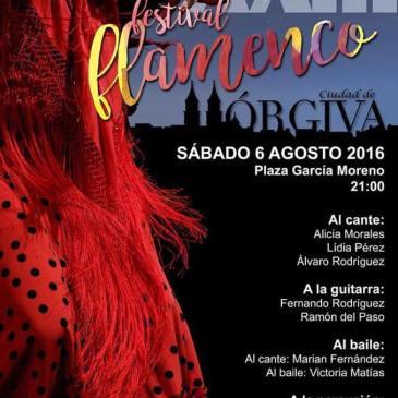 """Órgiva – XXIII Festival Flamenco """"Ciudad de Órgiva"""" – 2016"""