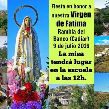 Rambla del Banco – Fiestas en honor a la Virgen de Fátima 2016
