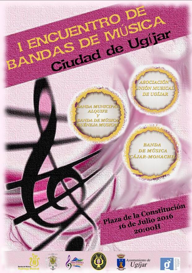 Ugíjar – I Encuentro de Bandas de Música Ciudad de Ugíjar