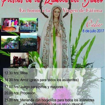 La Rambla del Banco – Fiestas en honor a la Virgen de Fátima 2017