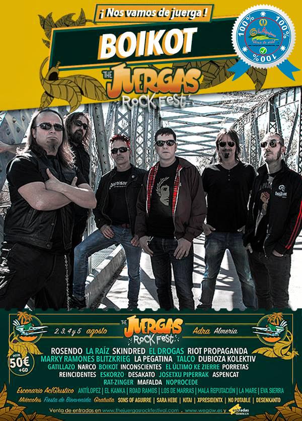 The Juergas Rock Festival - Adra - La Alpujarra - Almería 2017 - Grupo 12