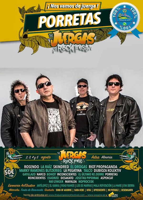 The Juergas Rock Festival - Adra - La Alpujarra - Almería 2017 - Grupo 15