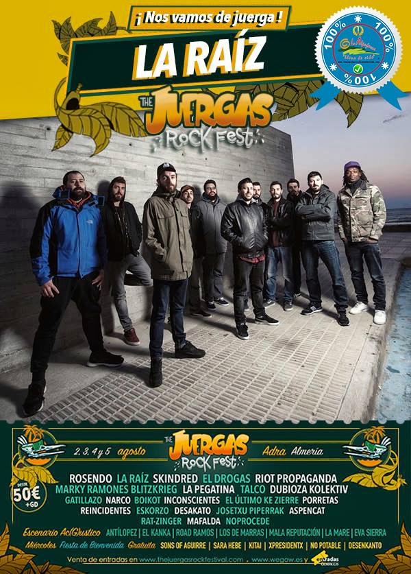 The Juergas Rock Festival – Adra - La Alpujarra – Almería 2017 – Grupo 2