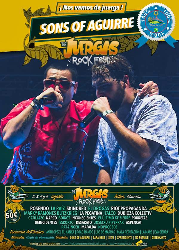 The Juergas Rock Festival - Adra - La Alpujarra - Almería 2017 - Grupo 31