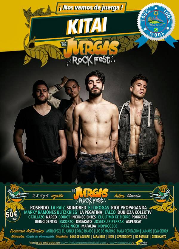 The Juergas Rock Festival - Adra - La Alpujarra - Almería 2017 - Grupo 33
