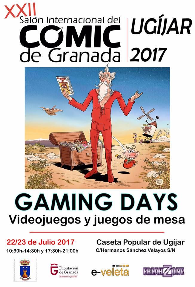 XXII Salón Internacional del Cómic de Granada 2017 en Ugíjar
